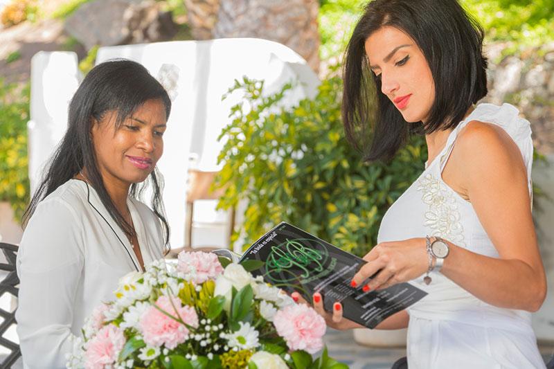 Servicio de compras para bodas y eventos